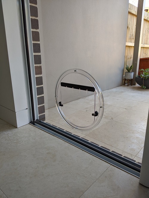 dog doors for glass